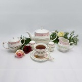 سرویس چای خوری انگلیسی 23 پارچه Hamilton مدل دیاموند