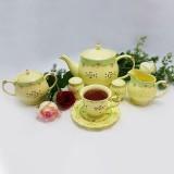 سرویس چای خوری انگلیسی 17 پارچه Hamilton مدل دیاموند