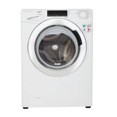 ماشین لباسشویی کندی 9 کیلویی مدل GVP-1409W سفید درب کروم
