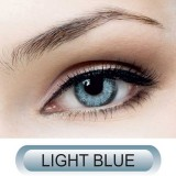 لنز چشم سولکو دور مشکی مدل Light blue