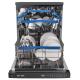 ماشین ظرفشویی کندی 16 نفره مدل CDP 2D622OW سفید