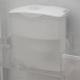 یخچال فریزر دو قلو هاردستون مدل HD2 سفید