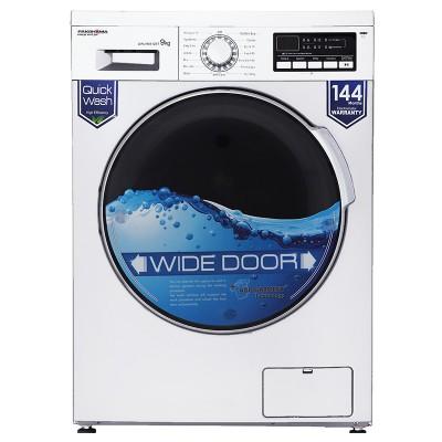 ماشین لباسشویی پاکشوما 9 کیلویی 1400 دور مدل 93412WT سفید