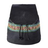 کوله پشتی زنانه سنتی مشکی