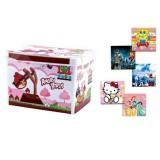 جعبه همه کاره متوسط چاپدار دخترانه و پسرانه لیمون