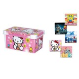جعبه همه کاره کوچک چاپدار دخترانه و پسرانه لیمون