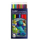 مداد رنگی سبز