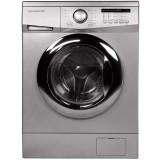 ماشین لباسشویی دوو تمام هوشمند 7 کیلویی مدل DWK 7114S نقره ای با درب کروم