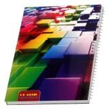 دفتر مشق 80 برگ مدل classic02 کد 48