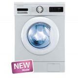 ماشین لباسشویی دوو تمام هوشمند 8 کیلویی مدل DWK 8312T سفید با درب سفید