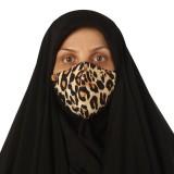 ماسک پارچه ای مدل ترنج