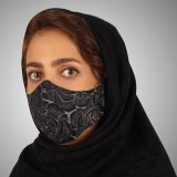 ماسک پارچه ای مدل گل بو