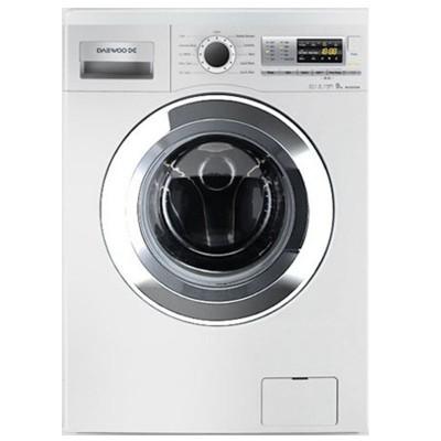 ماشین لباسشویی دوو تمام هوشمند 9 کیلویی مدل DWK-9112C سفید با درب کروم