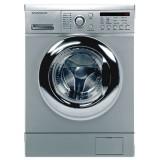 ماشین لباسشویی دوو تمام هوشمند 8 کیلویی مدل DWK 8714S نقره ای با درب کروم