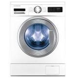 ماشین لباسشویی دوو تمام هوشمند 8 کیلویی مدل DWK 8314C2 سفید با درب کروم