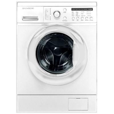 ماشین لباسشویی دوو تمام هوشمند 8 کیلویی مدل DWK-8210ST نقره ای با درب کروم
