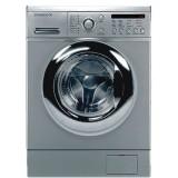 ماشین لباسشویی دوو تمام هوشمند 8 کیلویی مدل DWK 8214S3 نقره ای با درب کروم