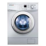 ماشین لباسشویی دوو تمام هوشمند 8 کیلویی مدل DWK 8114S3 نقره ای با درب کروم