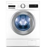 ماشین لباسشویی دوو تمام هوشمند 8 کیلویی مدل DWK 8310CT سفید با درب کروم