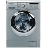 ماشین لباسشویی دوو تمام هوشمند 8 کیلویی مدل DWK 8210ST نقره ای با درب کروم
