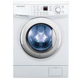 ماشین لباسشویی دوو تمام هوشمند 8 کیلویی مدل DWK 8110CT سفید با درب کروم