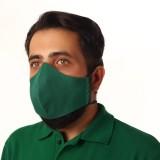 ماسک پارچه ای اداری مدل دوران