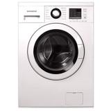 ماشین لباسشویی دوو تمام هوشمند 8 کیلویی مدل DWK 8412T سفید با درب سفید