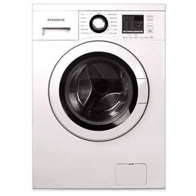 ماشین لباسشویی دوو تمام هوشمند 8 کیلویی مدل DWK-8412T سفید درب سفید