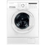 ماشین لباسشویی دوو تمام هوشمند 8 کیلویی مدل DWK 8212T سفید با درب سفید