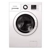 ماشین لباسشویی دوو تمام هوشمند 8 کیلویی مدل DWK 8414T سفید با درب سفید
