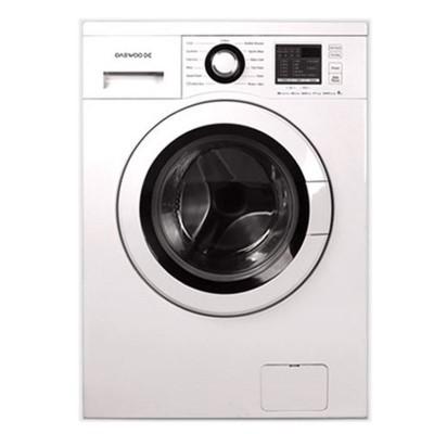 ماشین لباسشویی دوو تمام هوشمند8 کیلویی مدل DWK-8414T سفید درب سفید