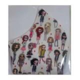 ماسک پارچه ای مدل عروسکی