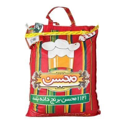 برنج هندی باسماتی محسن کیسه 10 کیلویی
