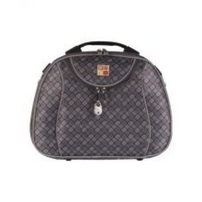 کیف آرایشی برزنتی زنانه دینا چرم