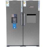 یخچال فریزر دو قلو یخسازدار اتوماتیک آی فادر مدل if23 | آنلاین کالا