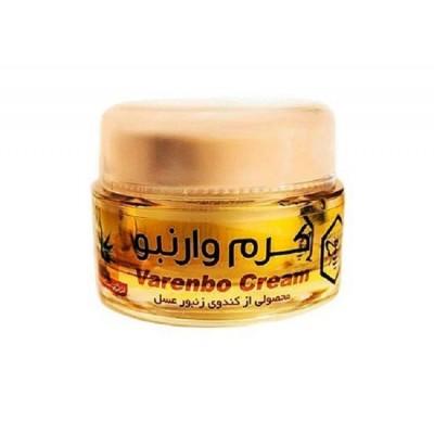 کرم کلاژن ساز و جوان کننده پوست وارنبو - Varenbo