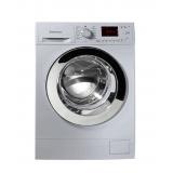 ماشین لباسشویی وست پوینت مدل WMN1012117 ER سفید دور مشکی