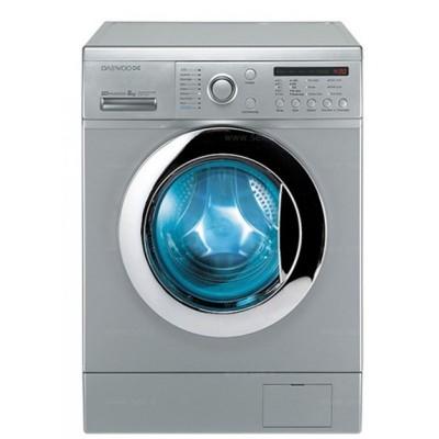 ماشین لباسشویی دوو تمام هوشمند8 کیلویی مدل DWK-8210T سفید درب سفید