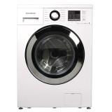 ماشین لباسشویی دوو تمام هوشمند 8 کیلویی مدل DWK 8412C سفید با درب کروم
