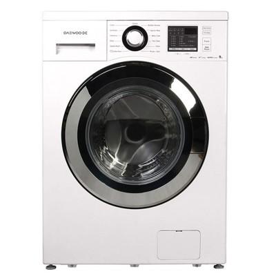 ماشین لباسشویی دوو تمام هوشمند 8 کیلویی مدل DWK-8412C سفید با درب کروم