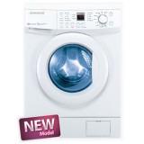 ماشین لباسشویی دوو تمام هوشمند 8 کیلویی مدل DWK 8112T سفید با درب سفید