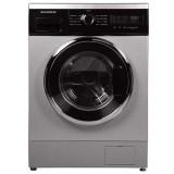 ماشین لباسشویی دوو تمام هوشمند 8 کیلویی مدل DWK 8512S نقره ای با درب کروم