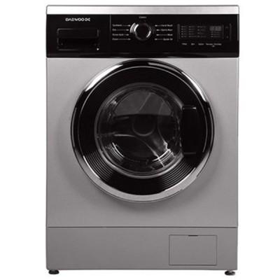 ماشین لباسشویی دوو تمام هوشمند 8 کیلویی مدل DWK-8514S نقره ای با درب کروم