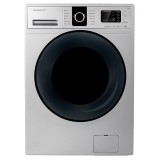 ماشین لباسشویی دوو تمام هوشمند 7 کیلویی مدل DWK 7214S نقره ای با درب کروم