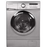 ماشین لباسشویی دوو تمام هوشمند 7 کیلویی مدل DWK 7112S نقره ای با درب کروم