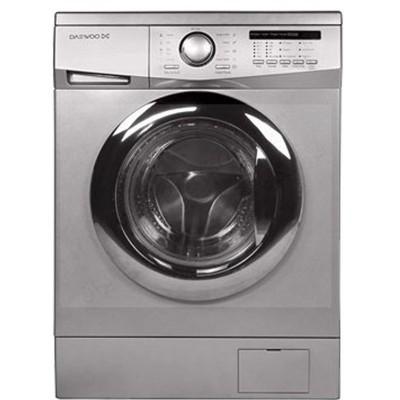ماشین لباسشویی دوو تمام هوشمند 7 کیلویی مدل DWK-7112S نقره ای با درب کروم