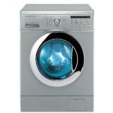 ماشین لباسشویی دوو تمام هوشمند 8 کیلویی مدل DWK 8212ST نقره ای با درب کروم