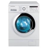 ماشین لباسشویی دوو تمام هوشمند 8 کیلویی مدل DWK 8212CT سفید با درب کروم