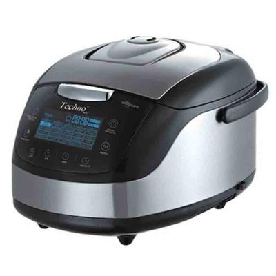 پلوپز Techno 6 نفره استیل دیجیتال لمسی مدل Te - 605