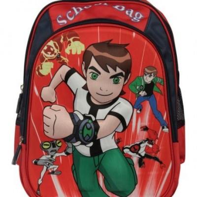 کیف کوله پشتی دینا چرم مدرسه ای بن تن